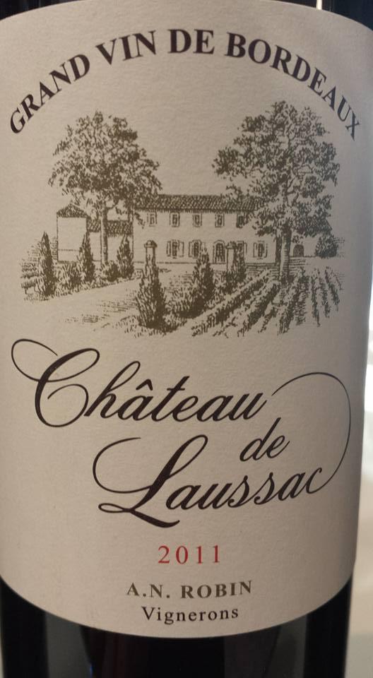 Château de Laussac 2011 – Castillon côtes de Bordeaux