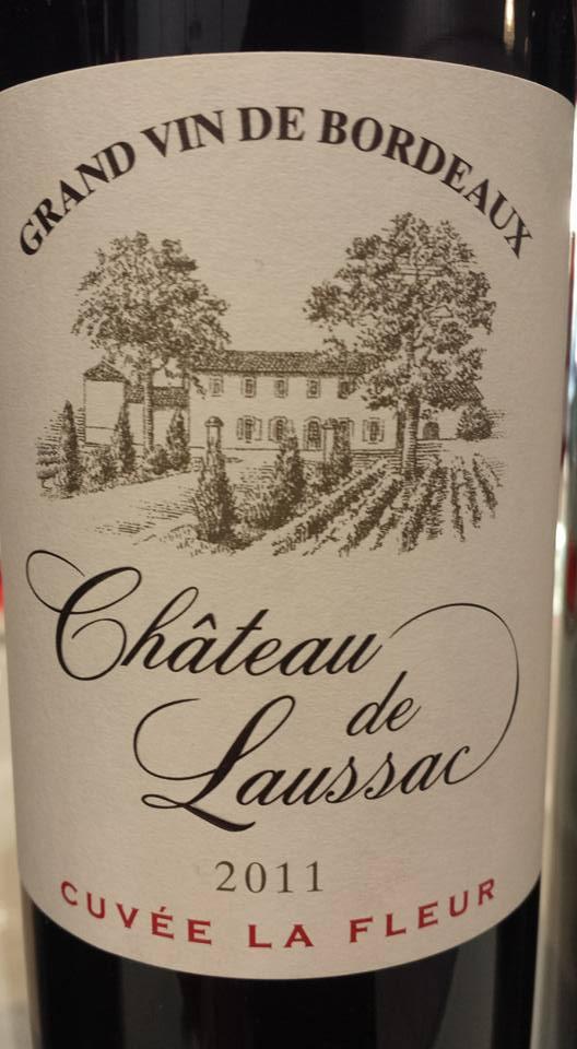 Château de Laussac – Cuvée La Fleur 2011 – Castillon côtes de Bordeaux