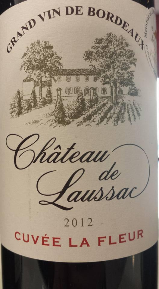 Château de Laussac – Cuvée La Fleur 2012 – Castillon côtes de Bordeaux