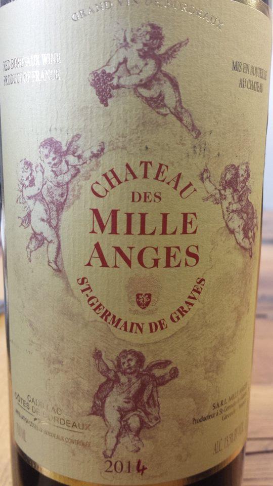Château des Mille Anges 2014 – Cadillac Côtes de Bordeaux