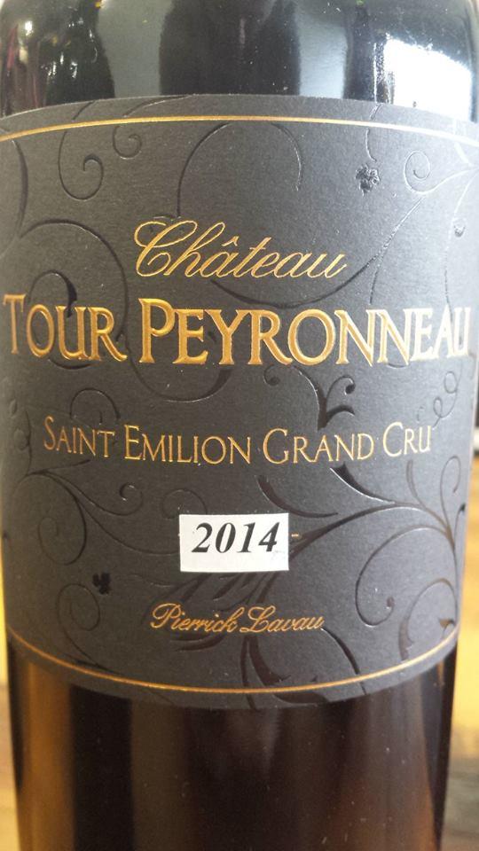 Chateau Tour Peyronneau Cuvée Pierrick Lavau 2014 – Saint-Emilion Grand Cru