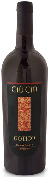Ciù Ciù – Gotico 2012 – Rosso Piceno Superiore