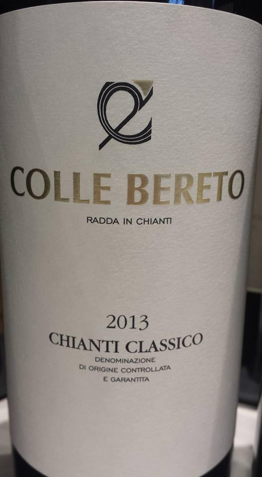 Colle Bereto 2013 – Chianti Classico