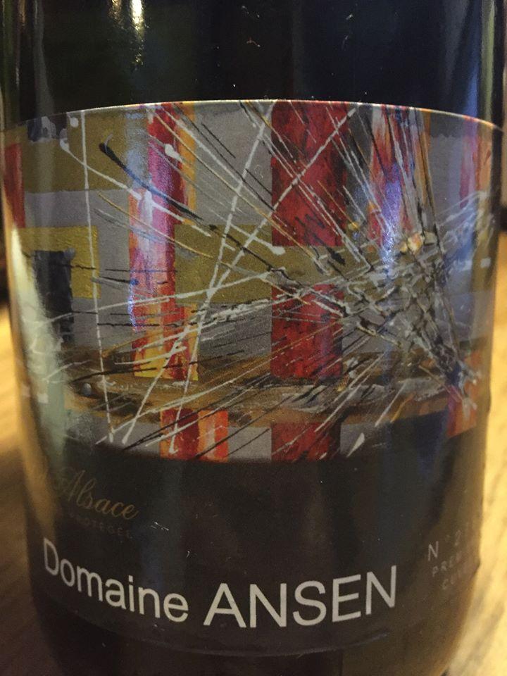Domaine Ansen – Première Cuvée – Extra brut – Crémant d'Alsace