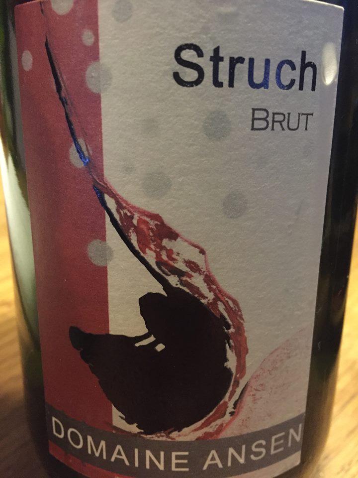 Domaine Ansen – Struch – Blanc de Noirs – Brut – Crémant d'Alsace