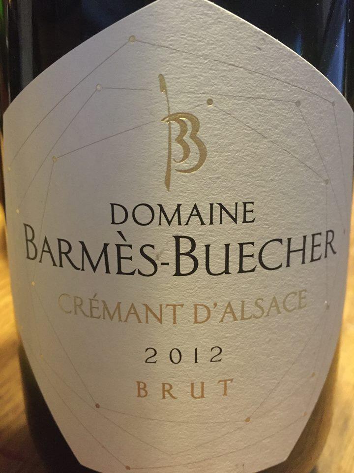 Domaine Barmès-Buecher 2012 – Brut – Crémant d'Alsace