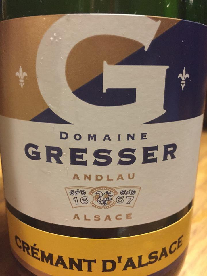 Domaine Gresser – Crémant d'Alsace