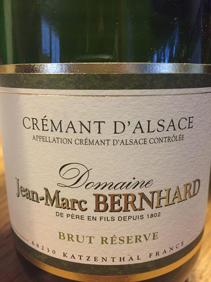 Domaine Jean-Marc Bernhard – Brut Réserve – Crémant d'Alsace