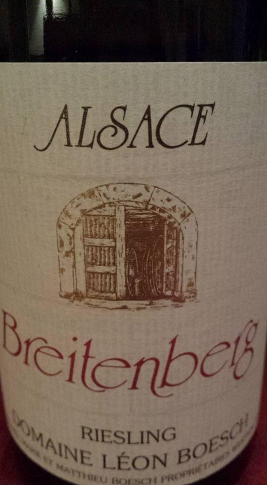 Domaine Léon Boesch – Breitenberg 2014 Riesling – Alsace
