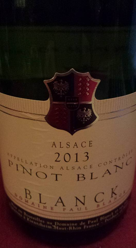Domaine Paul Blanck – Pinot Blanc 2013 – Alsace