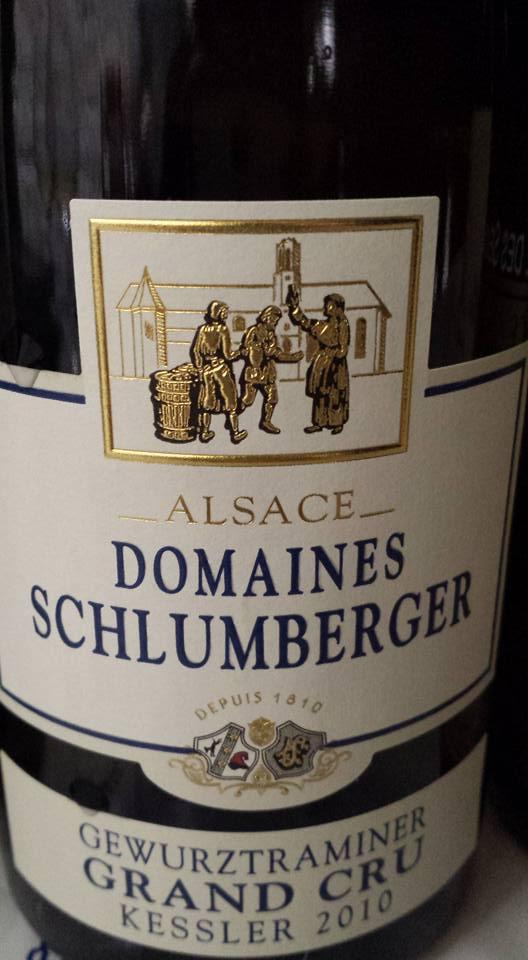 Domaines Schlumberger – Kessler Gewurztraminer 2010 – Alsace Grand Cru