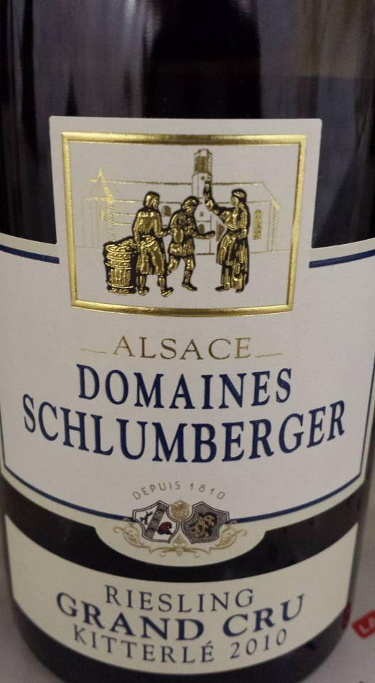 Domaines Schlumberger – Riesling Kitterlé 2010 – Alsace Grand Cru