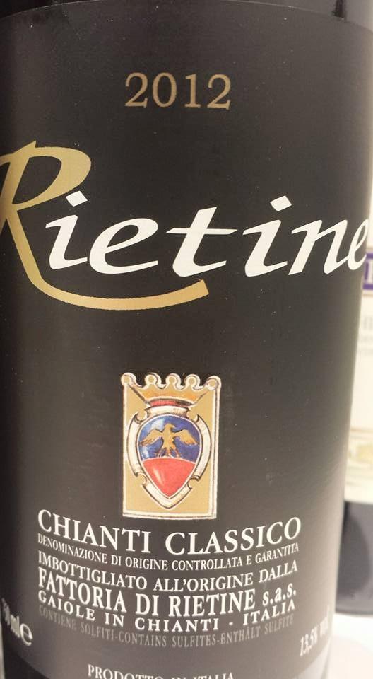 Fattoria di Rietine – Rietine 2012 – Chianti Classico
