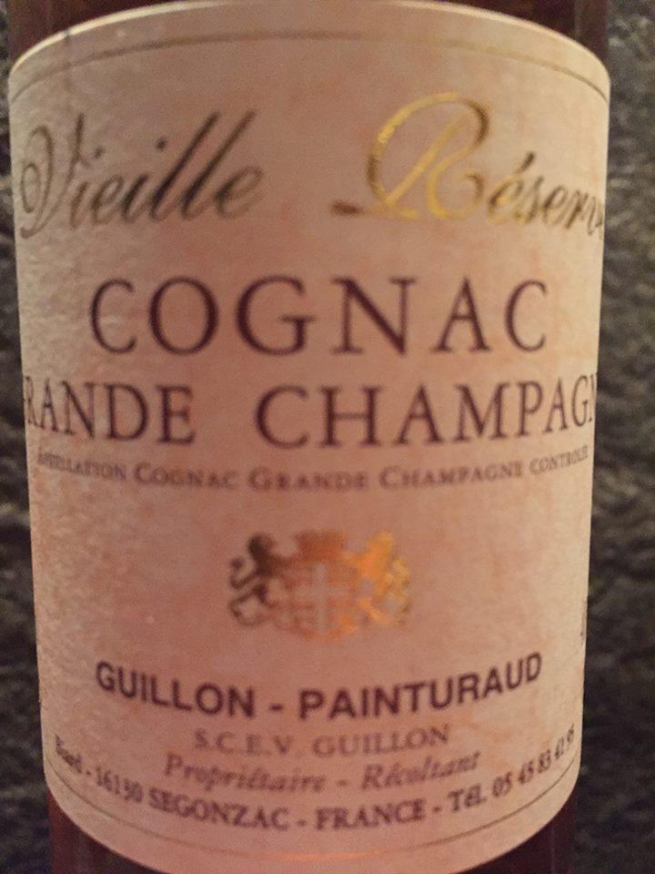 Guillon-Painturaud – Vieille Réserve – Cognac Grande Champagne