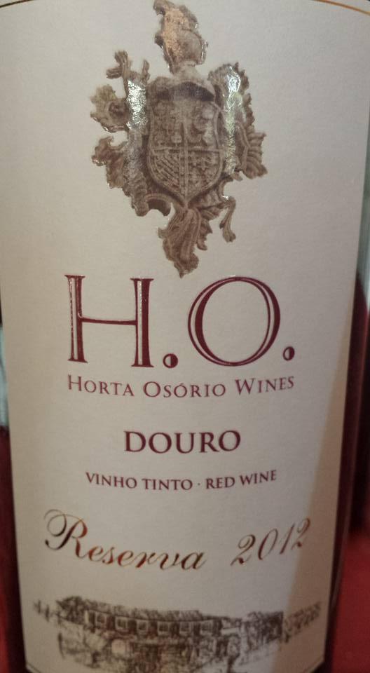 Horta Osorio H.O. – Reserva 2012 – Douro