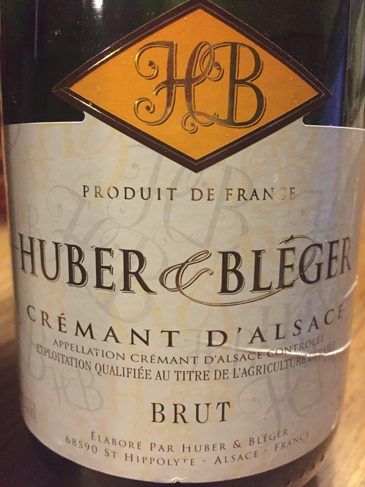 Huber & Bléger – Brut – Crémant d'Alsace