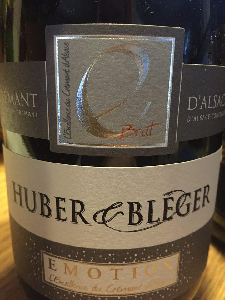 Huber & Bléger – Emotion – Crémant d'Alsace