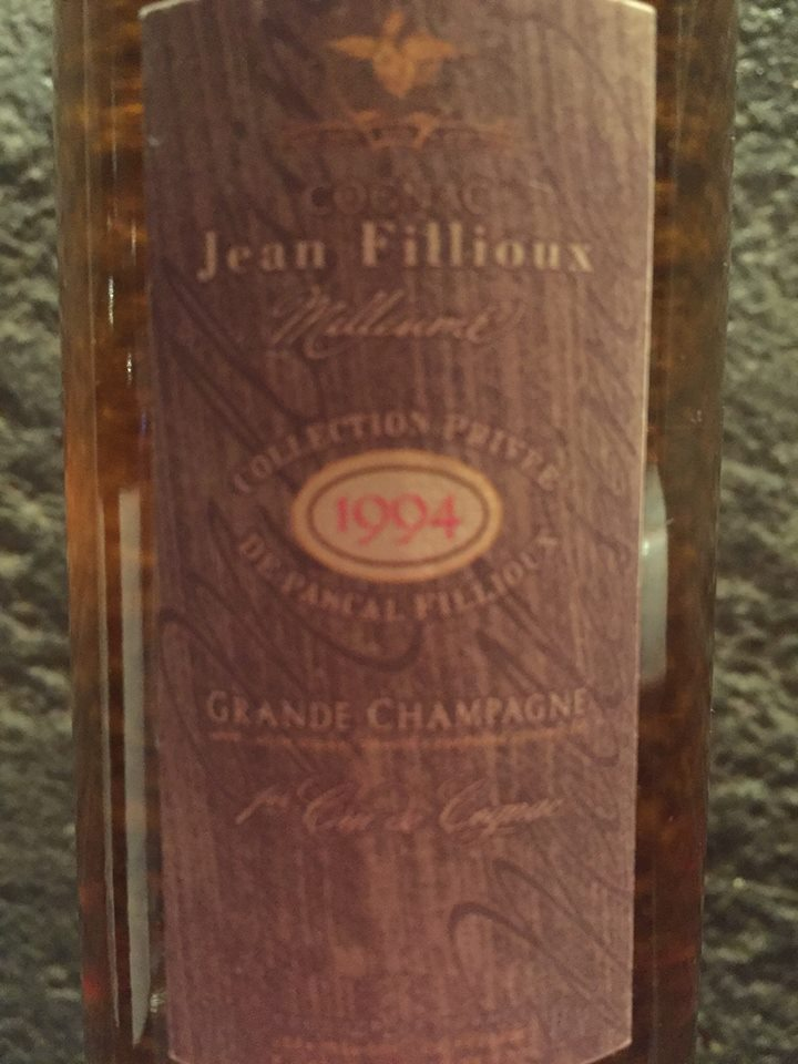 Jean Fillioux – Collection Privée 1994 – Grande Champagne – 1er Cru de Cognac
