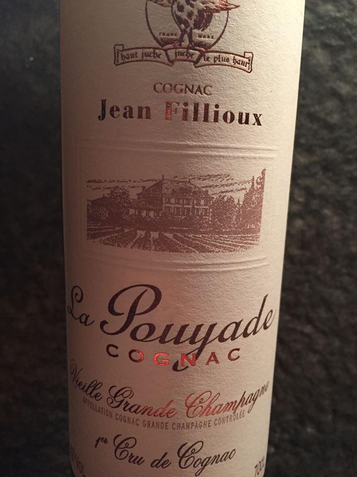 Jean Fillioux – La Pouyade – Vieille Grande Champagne – 1er Cru de Cognac – VSOP
