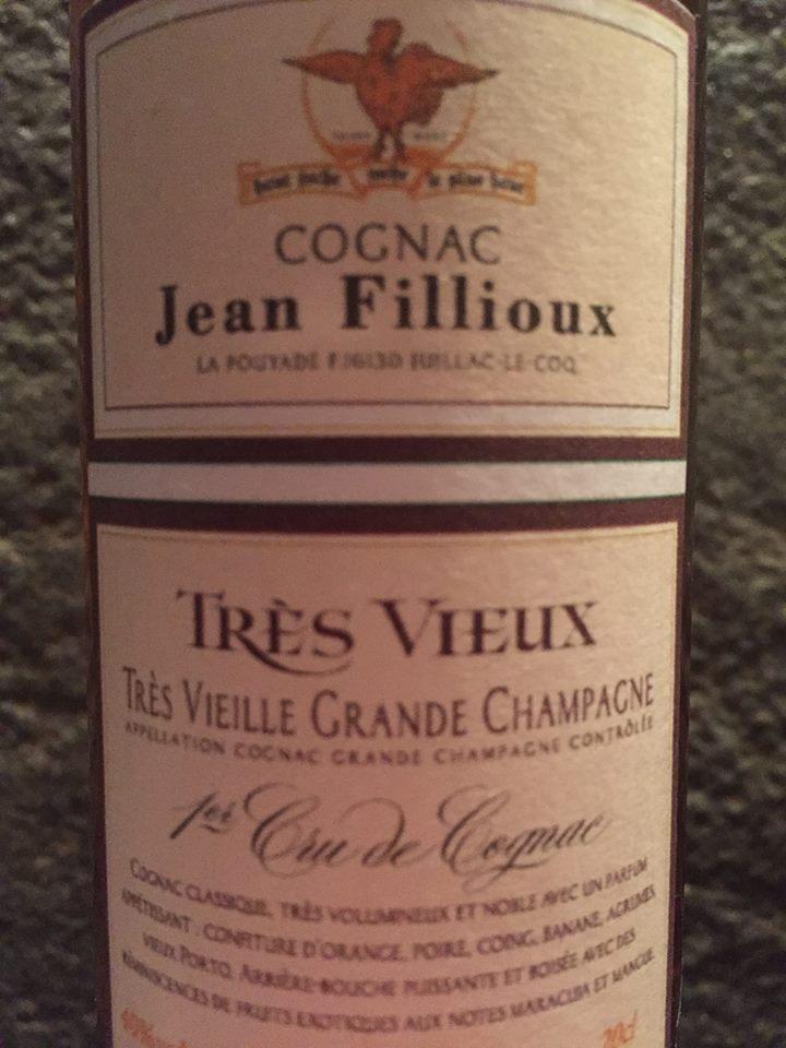 Jean Fillioux – Très Vieux – Très Vieille Grande Champagne – 1er Cru de Cognac
