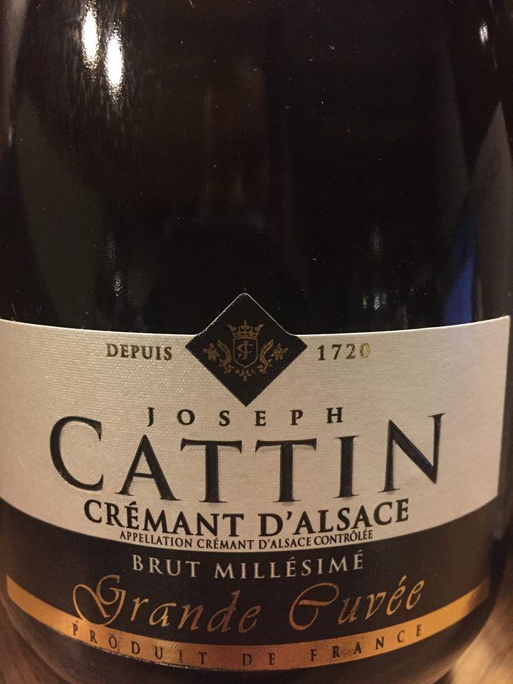Joseph Cattin – Brut Millésimé – Grande Cuvée 2010 – Crémant d'Alsace