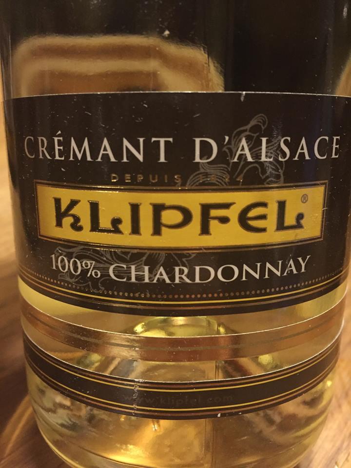 Klipfel – 100% Chardonnay – Crémant d'Alsace