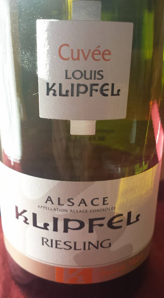 Klipfel – Cuvée Louis Klipfel Riesling 2013 – Alsace