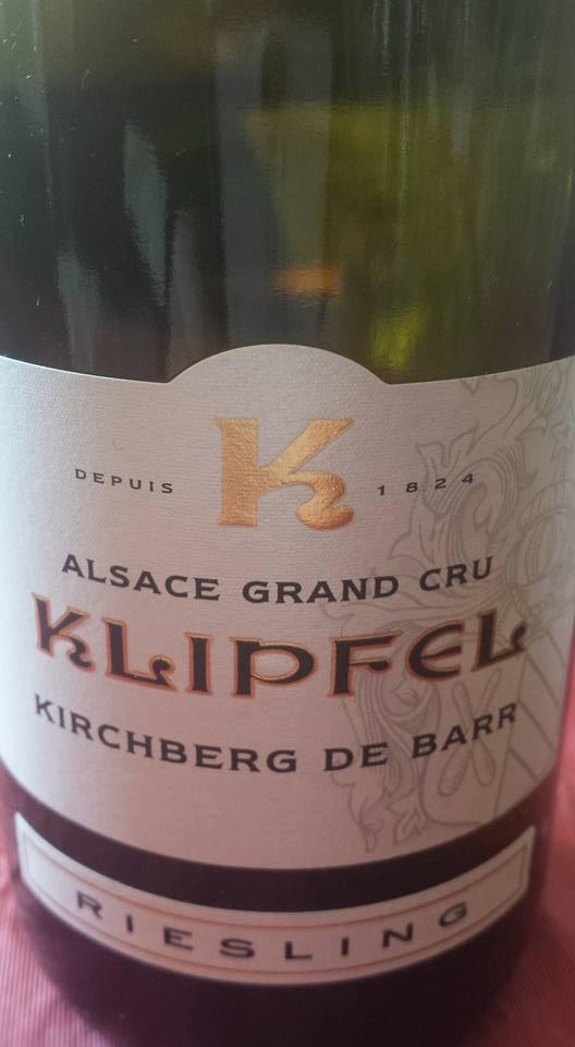 Klipfel – Riesling 2010 Kirchberg de Barr – Alsace Grand Cru