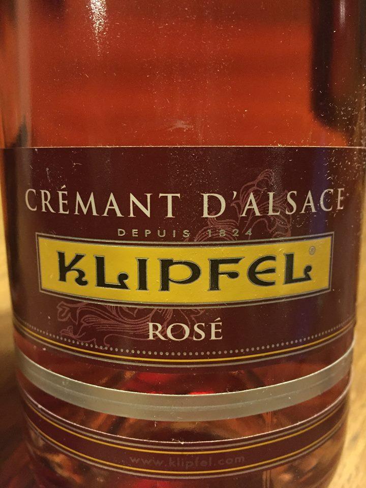 Klipfel – Rosé – Crémant d'Alsace