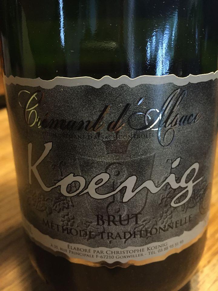 Koenig – Brut Méthode Traditionnelle – Crémant d'Alsace – Kasher