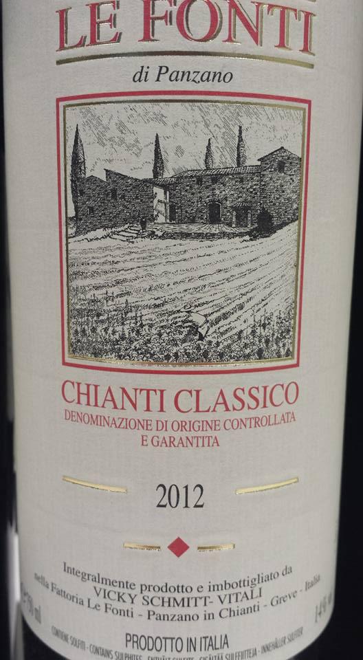 Le Fonti di Panzano 2012 – Chianti Classico