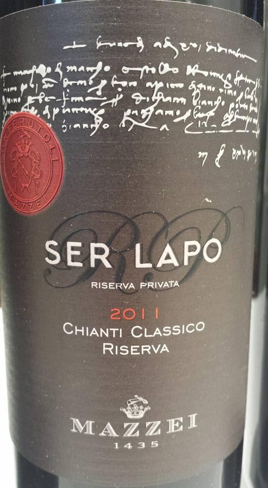 Mazzei – Ser Lapo – Riserva 2011 – Chianti Classico