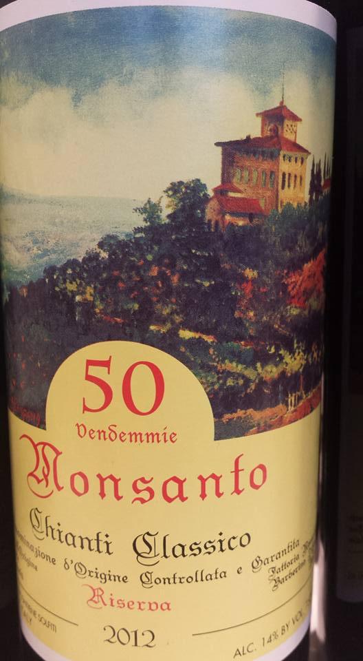 Monsanto 2012 – 50 Vendemmie – Chianti Classico Riserva