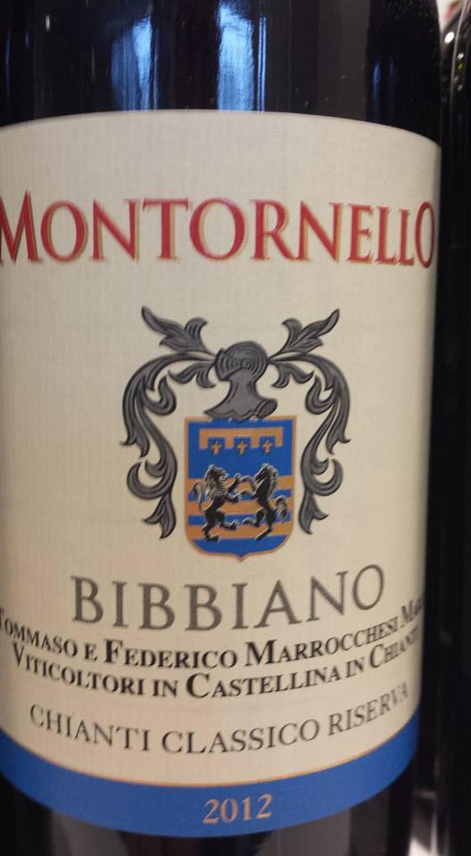 Montornello – Bibbiano 2012 – Chianti Classico Riserva