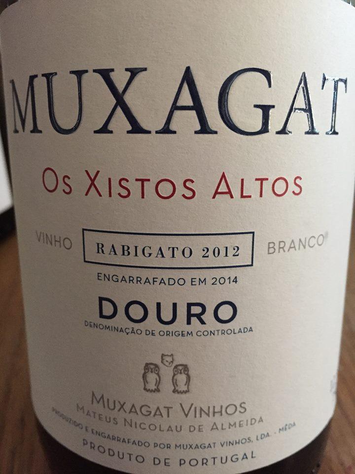 Muxagat – Os Xistos Altos – Rabigato 2012 – Douro