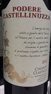Podere Castellinuzza 2013 – Chianti Classico