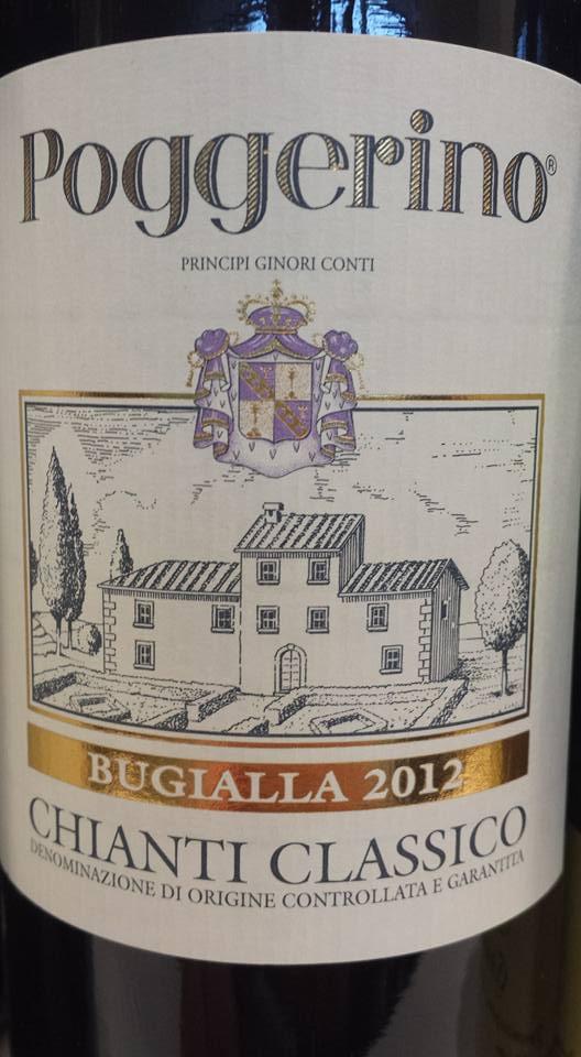 Poggerino – Bugialla 2012 – Chianti Classico Riserva