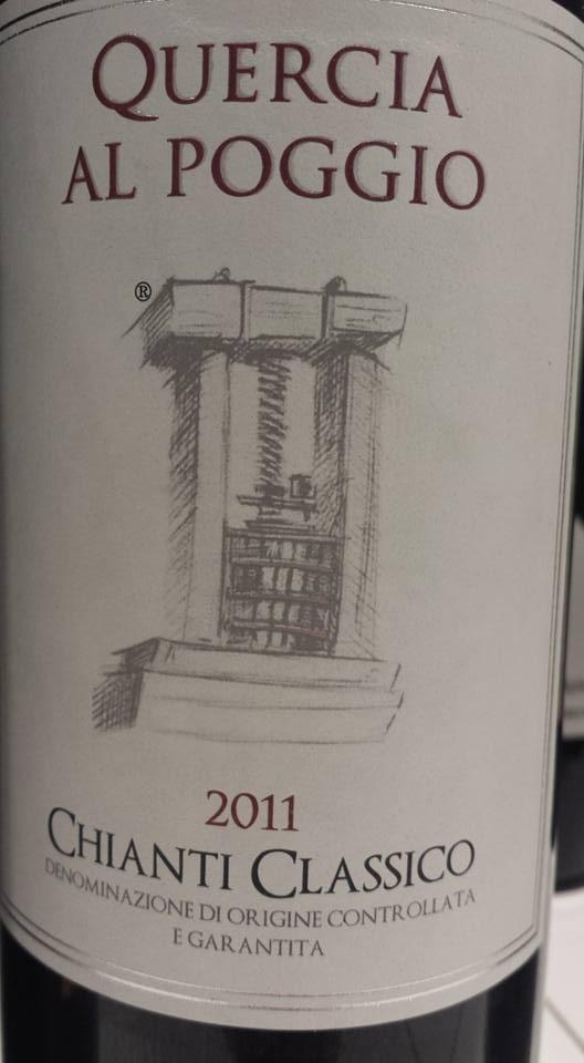 Quercia Al Poggio 2011 – Chianti Classico