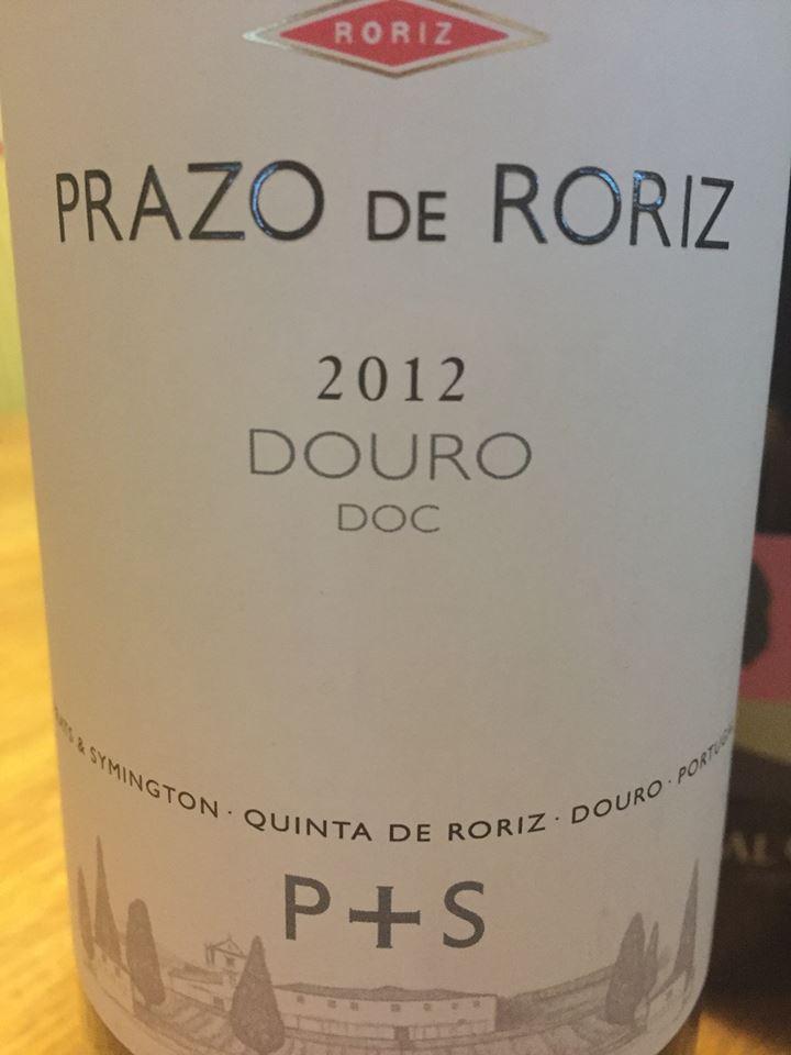 Quinta de Roriz – Prazo de Roriz 2012 – Douro
