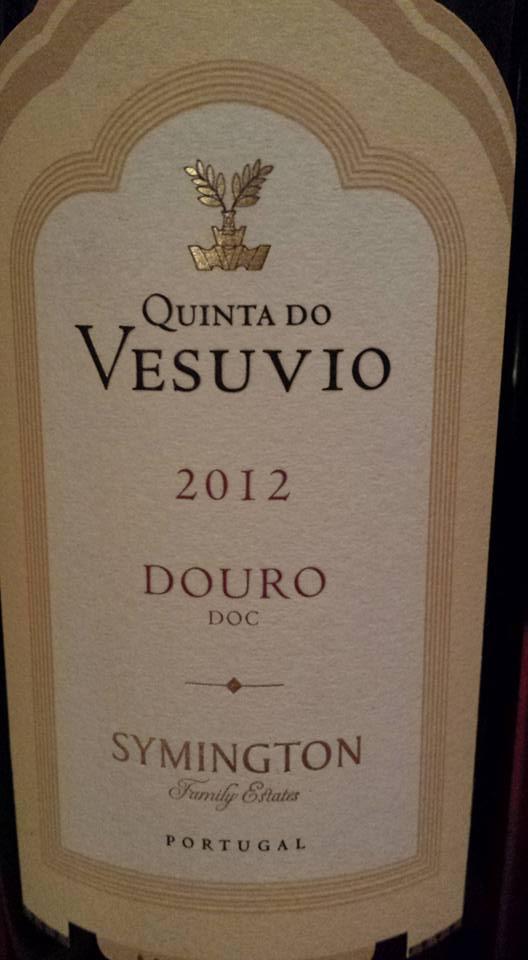Quinta do Vesuvio 2012 – Douro – Symington