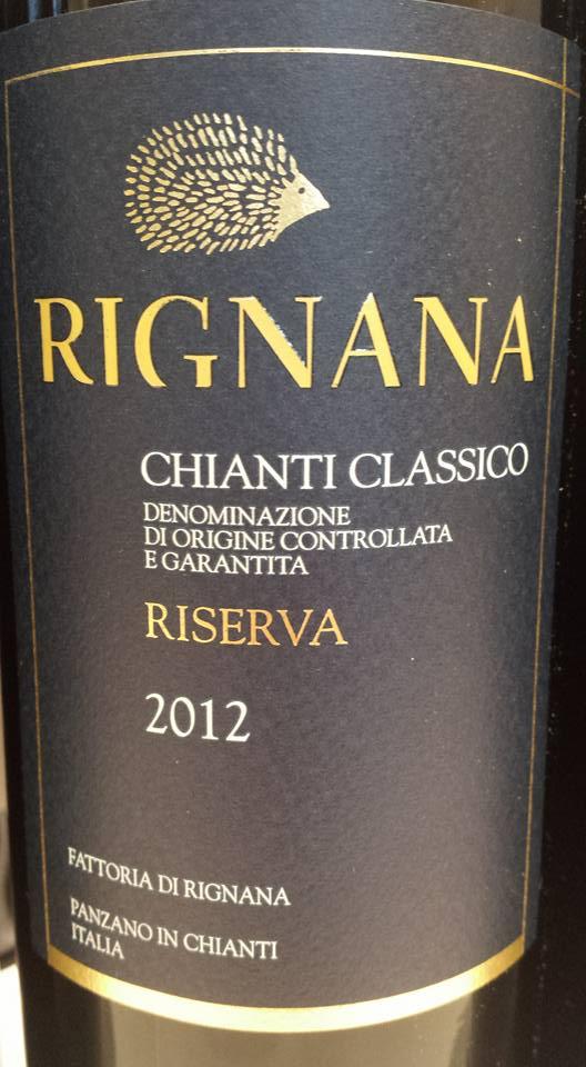 Rignana 2012 – Chianti Classico Riserva