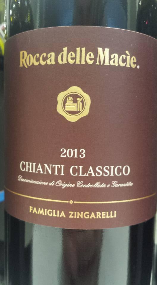 Rocca delle Macie – Famiglia Zingarelli 2013 – Chianti Classico