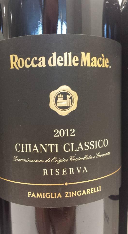 Rocca delle Macie 2012 – Chianti Classico Riserva