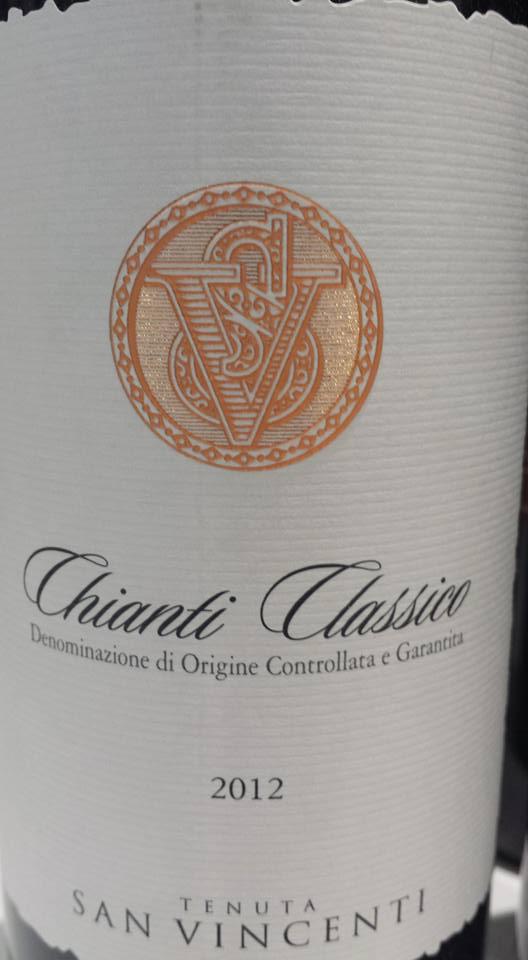 Tenuta San Vincenti 2012 – Chianti Classico
