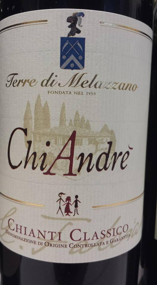 Terre di Melazzano – Chi André 2013 – Chianti Classico