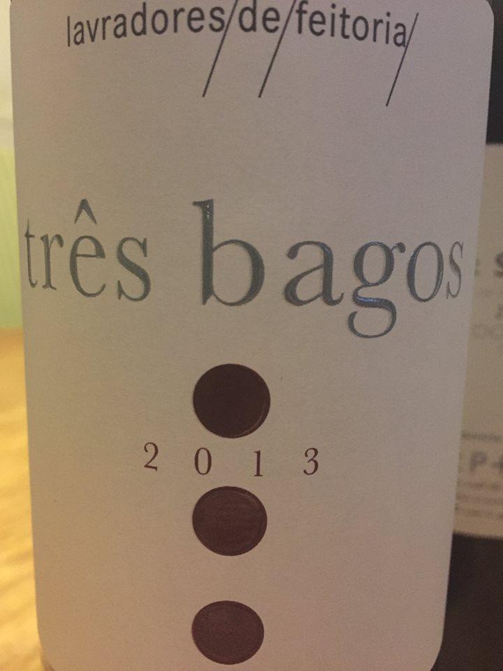 Três bagos – Lavradores de Feitoria 2013 – Douro