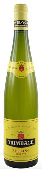 Trimbach – Riesling Réserve 2012 – Alsace