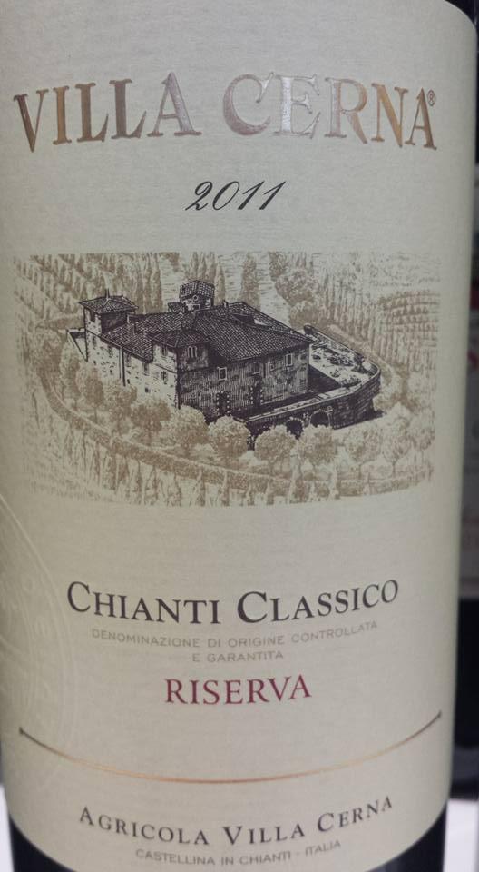 Villa Cerna 2011 – Chianti Classico Riserva