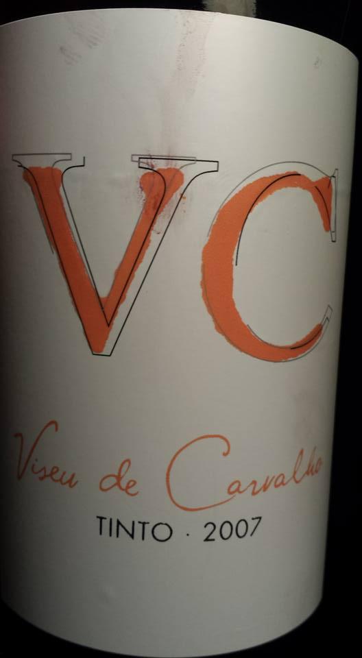 Viseu de Carvalho – VC – Grande Escolha Tinto 2007 – Douro