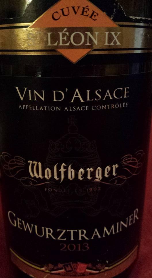 Wolfberger – Gewurztraminer – Cuvée Saint Léon IX – 2013 – Alsace